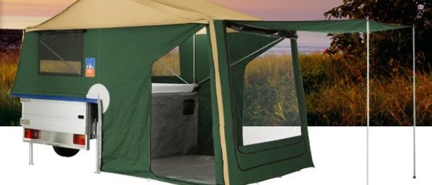 Kit remorca camping 3DOG Scout Dog